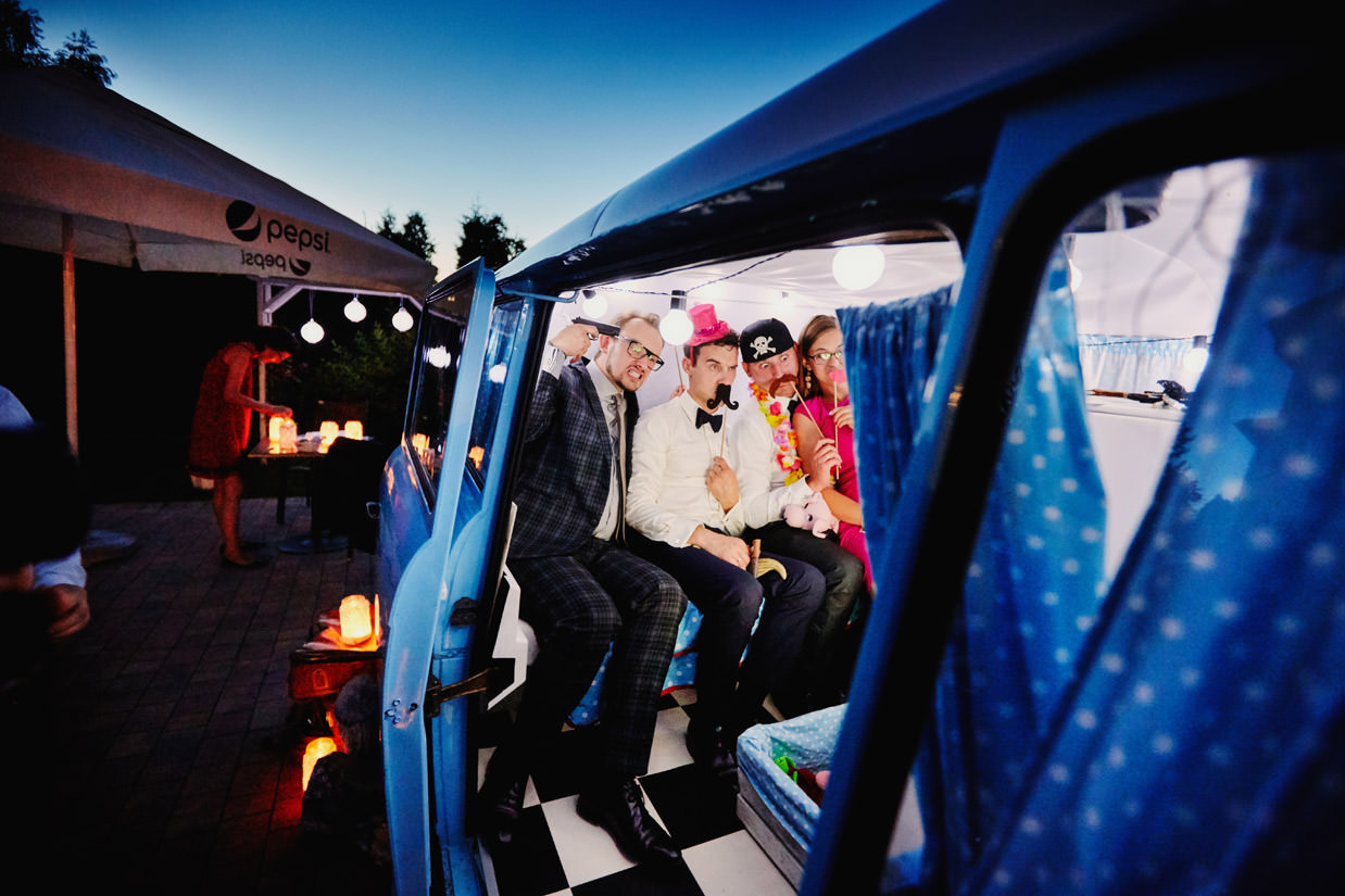 fotobus zabawa na weselu