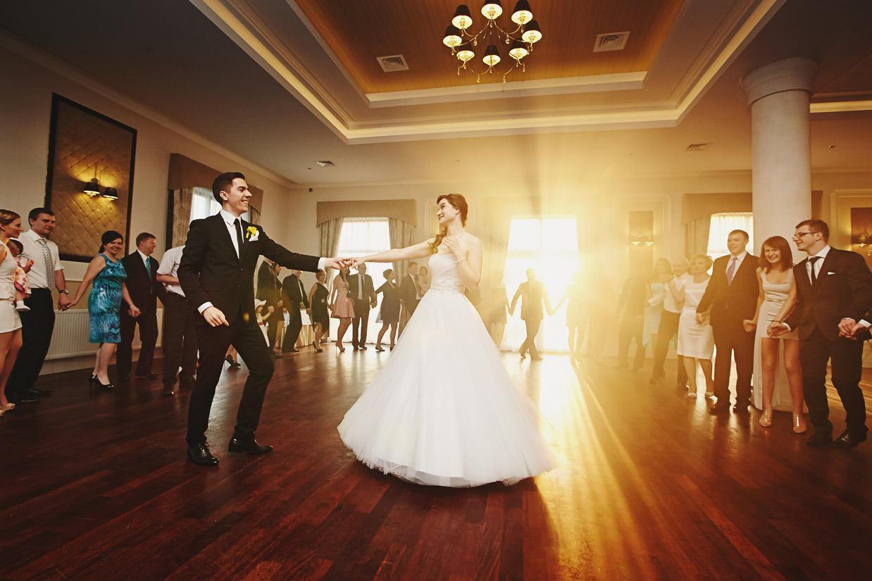 pierwszy taniec na weselu w hotelu Focus
