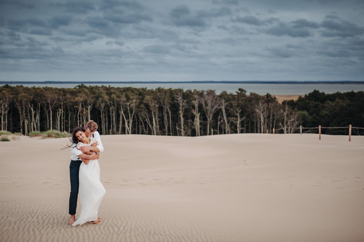 pocałunek nad morze w Łebie