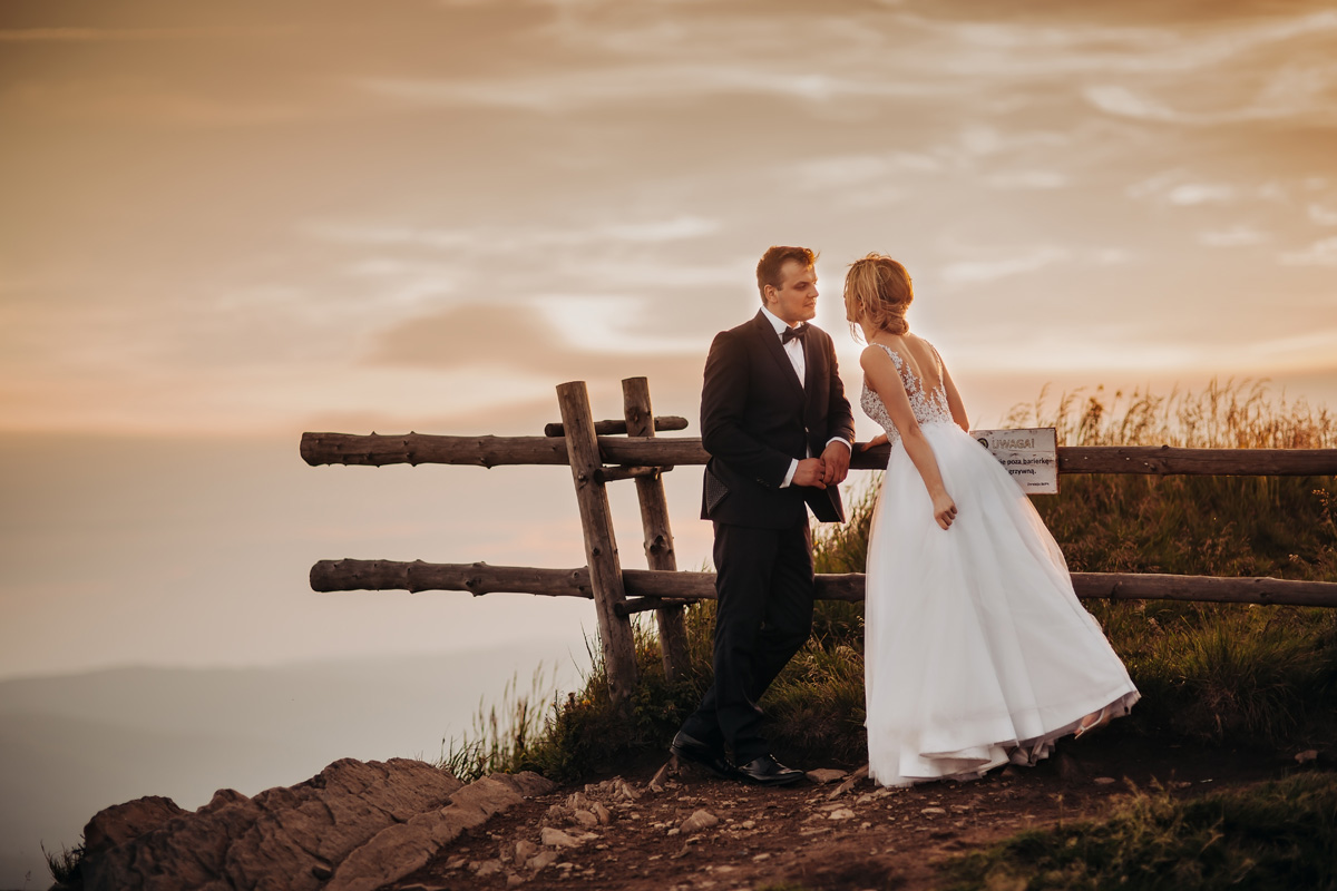 Sesja ślubna w Bieszczadach