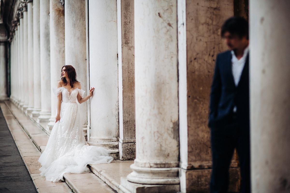 sesja slubna w wenecji