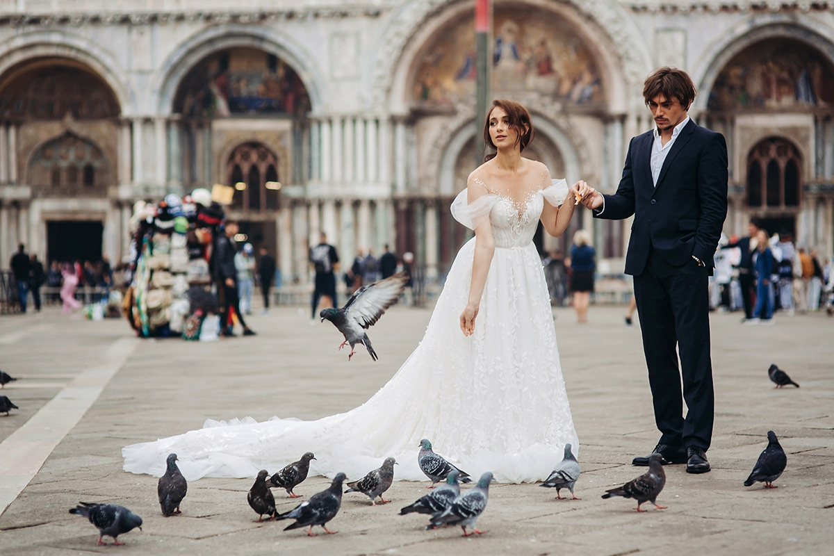 Sesja ślubna w Wenecji